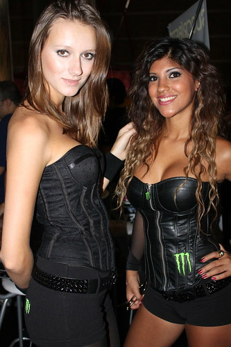 Edecanes Monster Energy