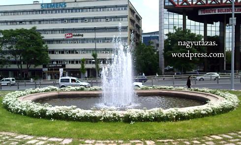 Szökőkút a török fővárosban