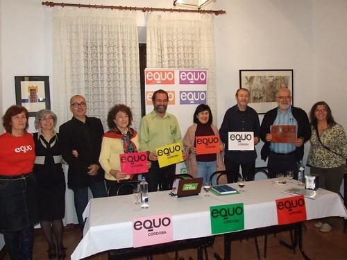 """Acto de presentación de propuestas electorales para el 20N. Somos """"alternativa real a los problemas del siglo XXI"""". (29 octubre 2011)"""