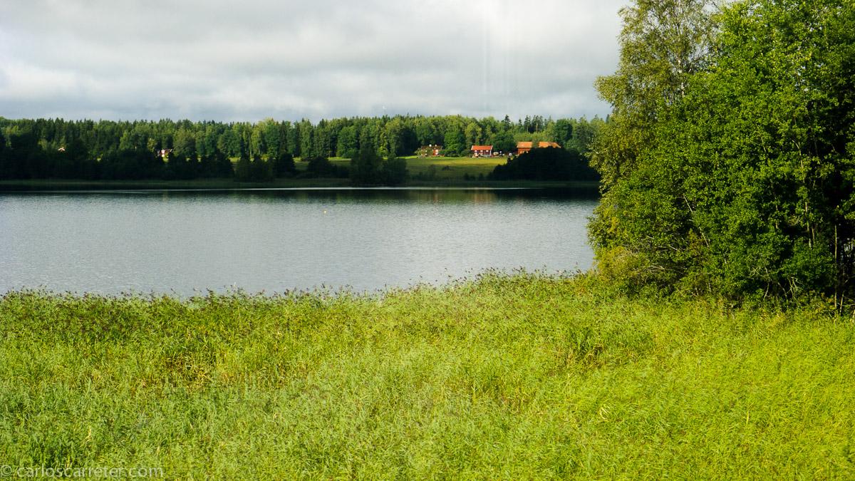 Entre Estocolmo y Gotemburgo