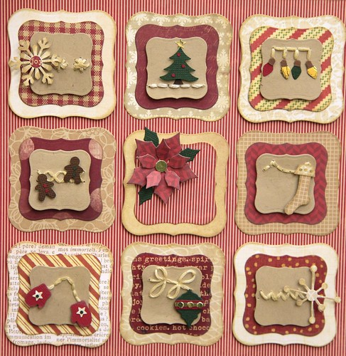 Holiday Stitch Sampler- November 2011