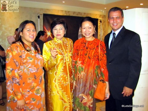 Malaysian Minister of Tourism with Guests