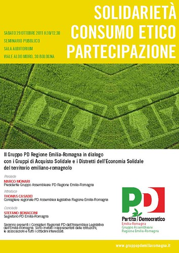 """SOLIDARIETA' CONSUMO ETICO PARTECIPAZIONE"""