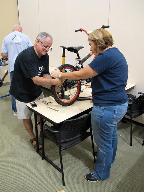 Joe Builds A Bike