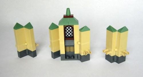 Hogwarts Castle - Connecting Walls