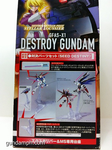 HCM Pro Destroy Gundam 1-200 GFAS-X1 Review (4)