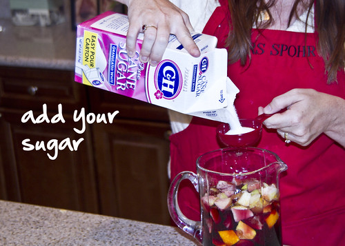 add sugar
