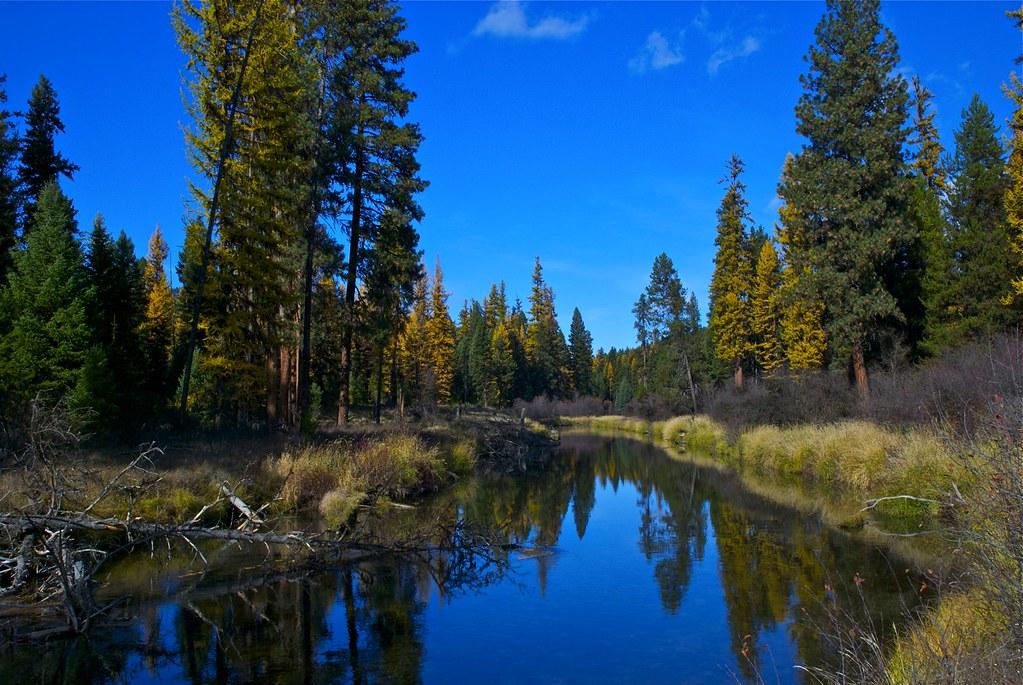Thompson River in autumn