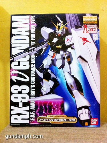 Gundam PH Birthday Gift MG Nu Gundam (2)