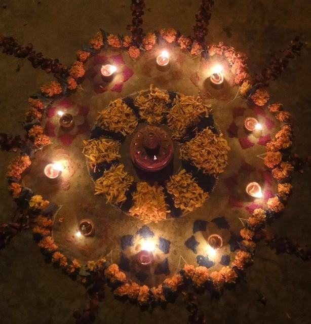 Rangoli, 2011 Diwali