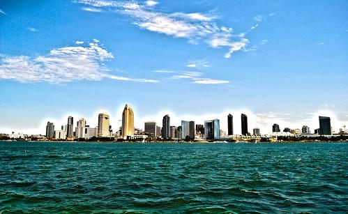 Futuristic San Diego by robmercier00