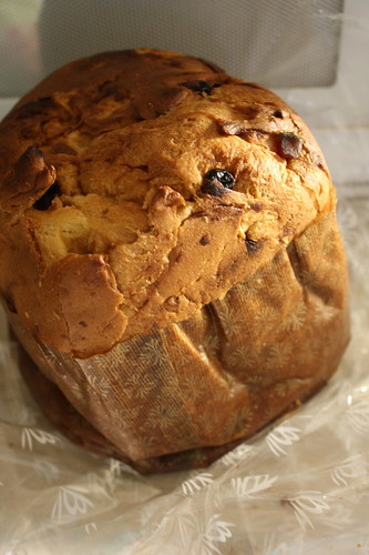 Panettone raisin bread