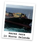 marea nera in Nuova Zelanda