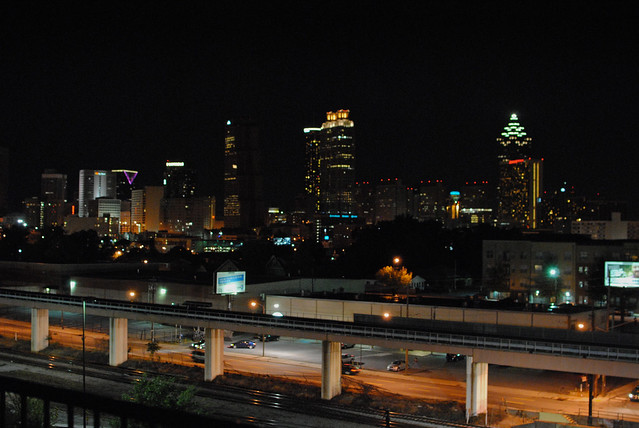 Atlanta Night Skyline