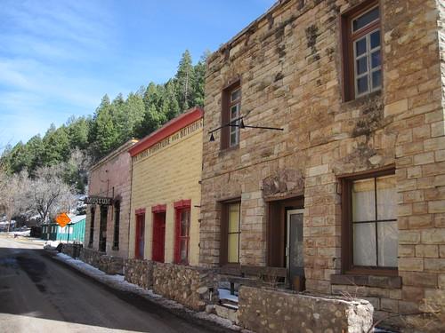 Picture from Mogollon, New Mexico
