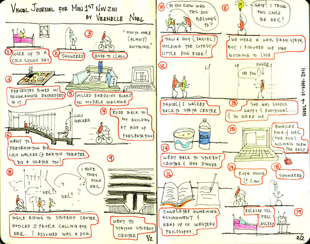Visual Journal-01 Nov 2011