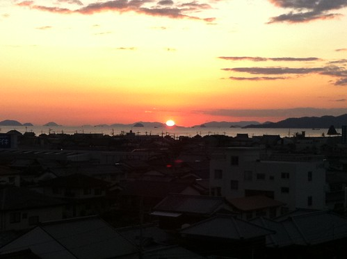 Japan Sunset, Shikoku