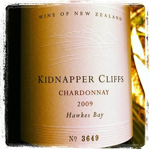 Kidnapper Cliffs Chardonnay 2009