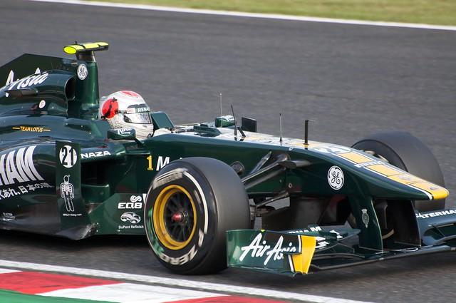 Jarno Trulli Team Lotus