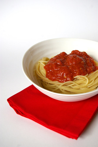 Spaghetti and sauce II