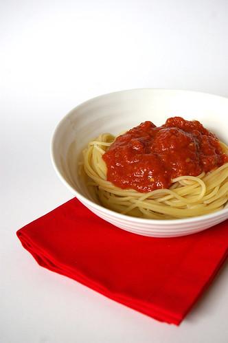 Spaghetti and sauce II