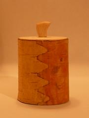 birch bark pot