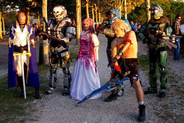 Tidus cosplay