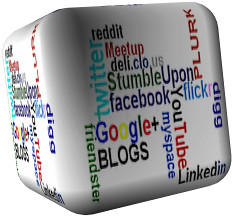Social Media Marketing Cube by opportplanet, on Flickr