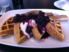 Waffle at Highlands kitchen
