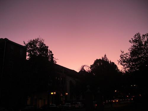dusk, philly, november 2011