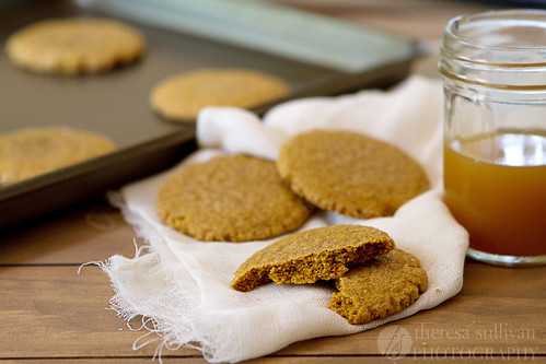 Chewy (-ish) Pumpkin Molasses Cookies