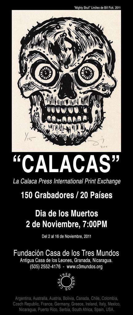 La Calaca Press International Print Exchange at Casa de los Tres Mundos