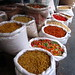 Pasta in bulk, market in Pondicherry