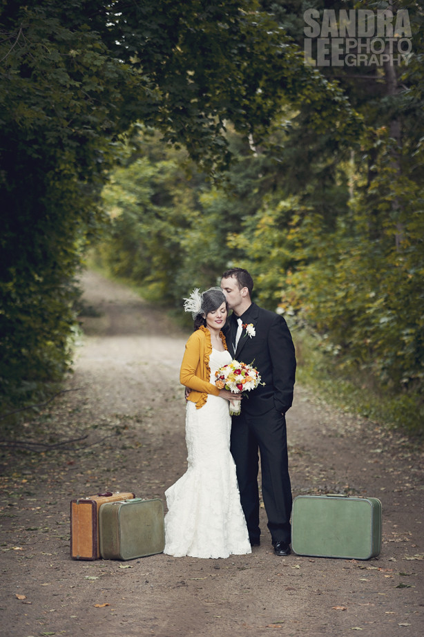 Amy + Ian :: Modern Vintage Chic in Corner Brook, NL