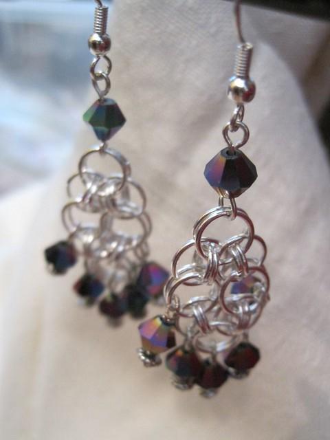 helm earrings
