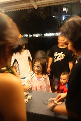 trick or treat night at chip bee gardens