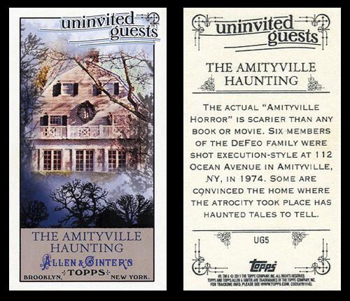 Allen & Ginter Amityville Card