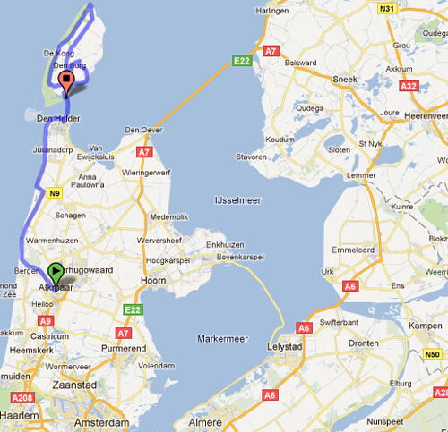 Map of Our Tour