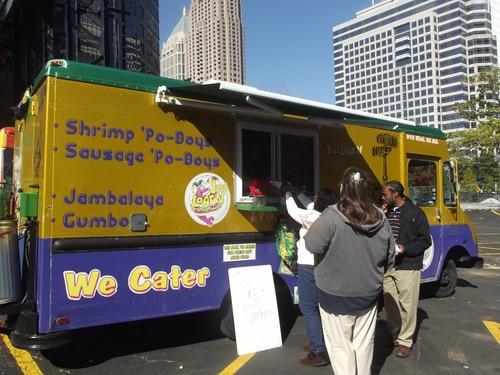 jus' loaf'n food truck