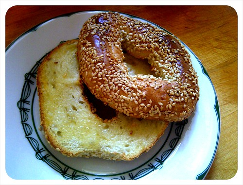 a Montreal bagel in Harlem