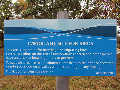 Sign at Ingbirchworth Res