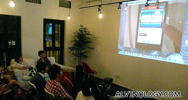 Phone app demo