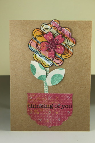 2011 WORLD CARD MAKING CONTEST -Thinking of You by kimba7669