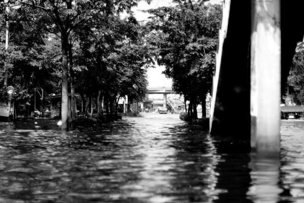 Situación Bangkok inundado