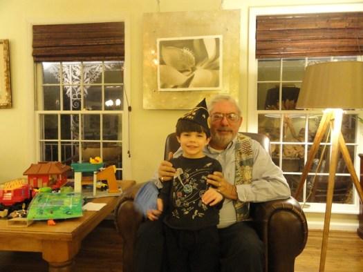 Shug & Papa on Veteran's Day