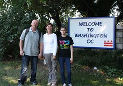 Arnis Patti and Logan Welcome to DC
