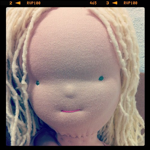 She is getting her hair!! by rebourne.etsy.com