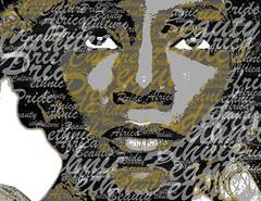 Genevieve-Nnaji typography portrait
