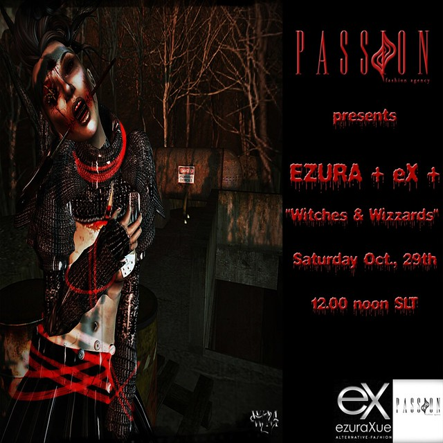 + eX + Witches & Wizards Passion Halloween Show