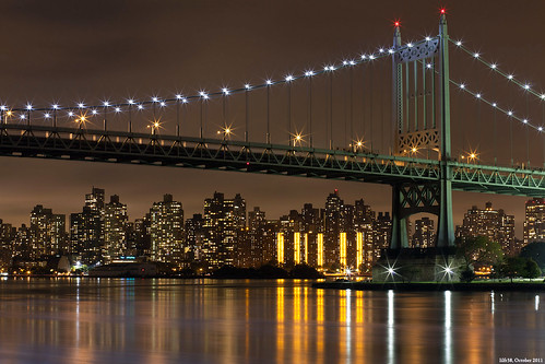 Triboro Bridge & The Bronx by LilFr38
